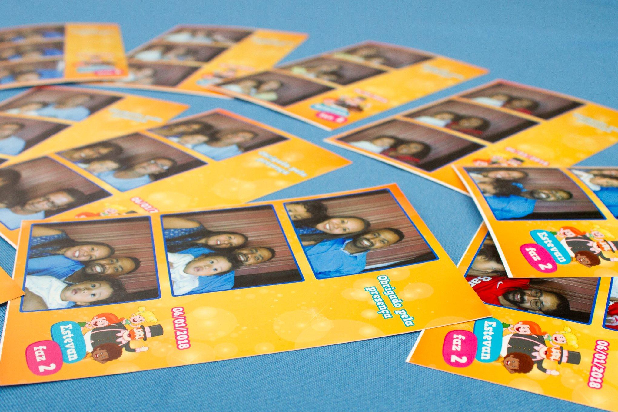 cabine de fotos aniversario infantil
