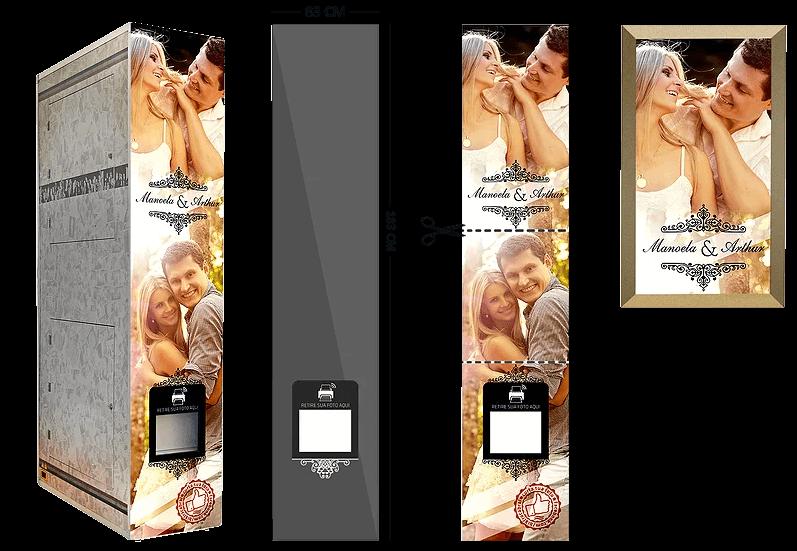 personalização cabine de fotos
